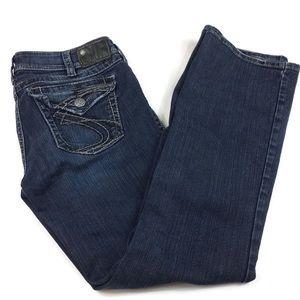 Silver Suki Surplus flap pockets bootcut sz 31